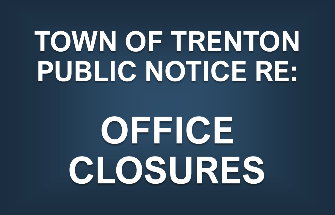 Public Notice Re: Office Closures (Eff: April 28, 2021)