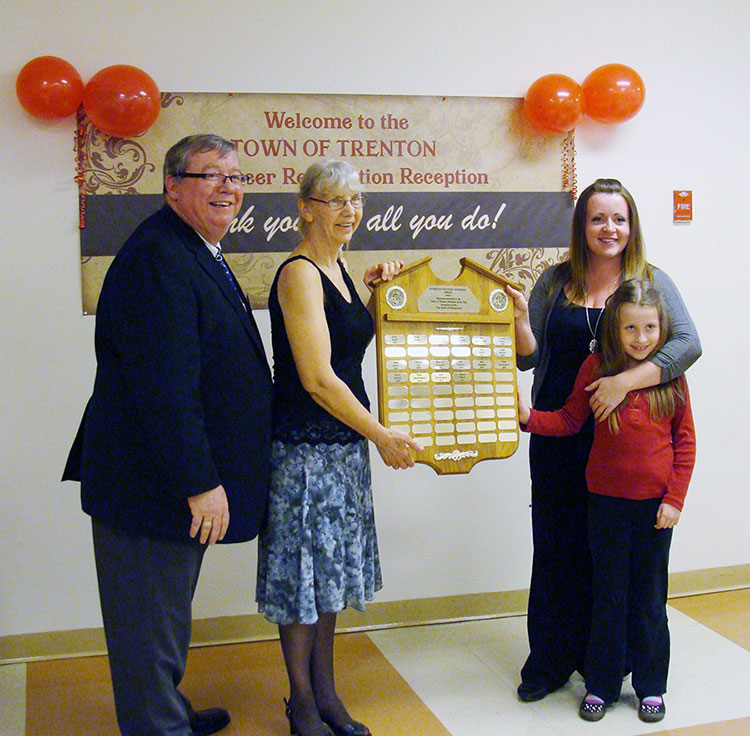 2012 Florence Gouthro Memorial Volunteer of the Year Recipient